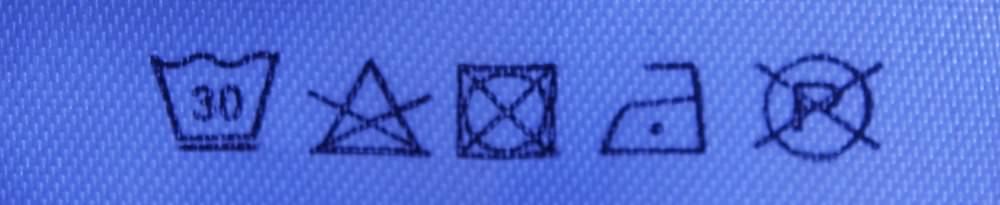 Etikett Symbole Bedeutung